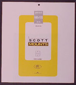 Scott Mounts Souvenir Sheets/Small Panes -  185 x 172 mm (1023 B/C)