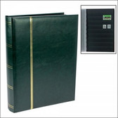 Safe Publications - 64 Page Full-Size Traditional Green Stockbook
