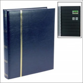 Safe Publications - 64 Page Full-Size Traditional Blue Stockbook