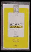 Scott Mounts Souvenir Sheets/Small Panes -  245 x 114 mm (1028 B/C)