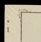 Scott Blank Quad-Ruled Pages - Specialty Border