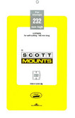 Scott Mounts Souvenir Sheets/Small Panes -  182 x 232 mm (1039 B/C)