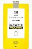 Scott Mounts Souvenir Sheets/Small Panes -  165 x 190 mm (1043 B/C)