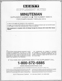 Scott Minuteman Album Supplement, 2013 #45