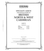 Scott British North and West Caribbean Album Pages, Part II (1937 - 1966)