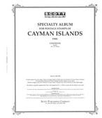 Scott Cayman Islands Album Pages, 2009,  #13