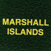 Scott Marshall Islands Specialty Binder Label