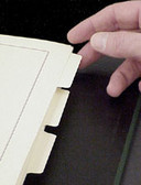 Page Dividers for Scott 3-ring and Square 2-Post Specialty Binders (ACC145)