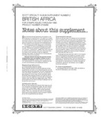 Scott British Africa Album Supplement, 1992 #4