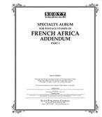 Scott French Africa Album Pages Addendum, 1941 - 1944 Dahomey - Ivory Coast
