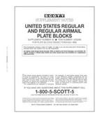 Scott US Regular Plate Blocks Supplement, 1999 - 2001 No. 22