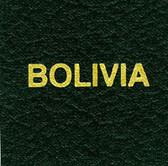 Scott Bolivia Specialty Binder Label