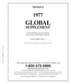 Minkus Worldwide Global Album Supplement for 1977
