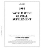 Minkus Worldwide Global Album Supplement for 1984