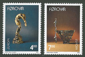 Faroe Islands, Scott Cat Nos. 252 - 253 (Set), MNH
