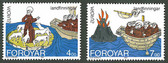 Faroe Islands, Scott Cat Nos. 264 - 265 (Set), MNH