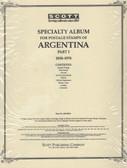 Scott Argentina Album Pages, Part 1 (1858 - 1974)