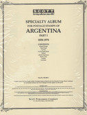 Scott Argentina Album Pages, Part 1 (1858 - 1974)