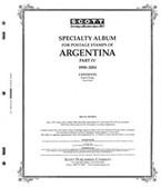 Scott Argentina Album Pages, Part 4 (1998 - 2004)