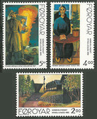 Faroe Islands, Scott Cat Nos. 284 - 286 (Set), MNH