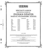 Scott Indian States Album Pages