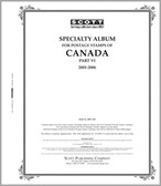 Scott Canada Album Pages, Part 6  (2001 - 2006)