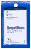 Showgard 50 x 31 mm Pre-Cut Mounts