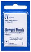 Showgard 25 x 40 mm Pre-Cut Mounts