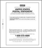 Scott U.S. Postal Stationery Album Supplement, 2015 #62
