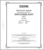 Scott Switzerland Album Pages Part 1 (1843 - 1987)