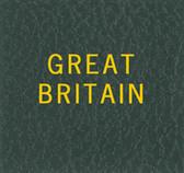 Scott Great Britain Specialty Binder Label