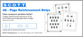 Mylar Square Hole Page Reinforcements  (ACC100)