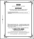 Scott Norway Stamp Album Supplement, 2015 #20