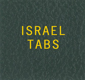 Scott Israel with Tabs Specialty Binder Label