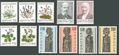 Faroe Islands 1980 Year Set, Scott Cat Nos. 48 - 58, MNH
