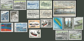 Faroe Islands 1987 Year Set, Scott Cat Nos. 152 - 168, MNH