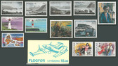 Faroe Islands 1985 Year Set, Scott Cat Nos. 121 - 138, MNH