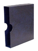 Schaubek Blue Senator Binder Slipcase for Hingeless Album Pages and Supplements