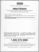 Scott Minuteman Album Supplement, 2016,  #48