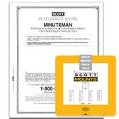 Scott Minuteman Album Supplement, 2016,  #48  and the 2016 Mount Set