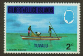 Tuvalu, Scott Catalogue No. 0002, MNH
