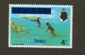 Tuvalu, Scott Catalogue No. 0004, MNH