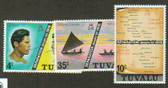 Tuvalu, Scott Catalogue No. 0016 - 0018, MNH (set)