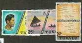 Tuvalu, Scott Catalogue No. 0016 - 0018, MNH (set)