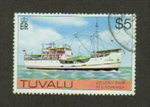 Tuvalu, Scott Catalogue No. 0037, Used