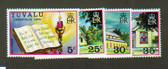 Tuvalu, Scott Catalogue No. 0038 - 0042, MNH (set)