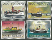 Faroe Islands, Scott Cat Nos. 232 - 235 (Set), MNH