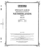 Scott Netherlands Album Pages, Part 2 (1949 - 1979)