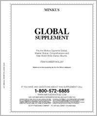 Minkus Worldwide Global Album Supplement for 1994