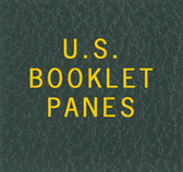 Scott Booklet Panes Album Binder Label